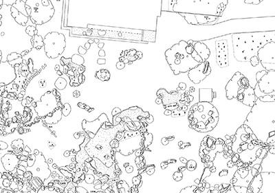 瑞楽園平面実測図