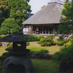 庭園と母屋