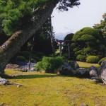 岩木山借景の庭園